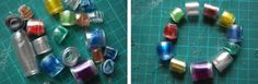 Recycled Plastic Bottle Beads #tutorials