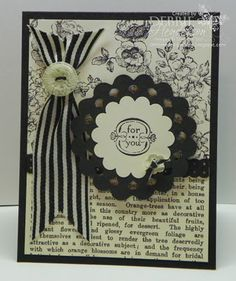 Stampin' Up! Elements of Style by Debbie Henderson. Debbie's Designs.