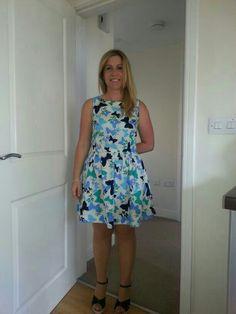 New Look butterfly dress
