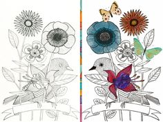 Welcome Fall   I'm doing a little happy dance today. My favorite season is here! :) Pencil sketch on the left and Photoshop colored digital version on the right. And to all of you in the southern hemisphere a hip hip hurray for Spring!