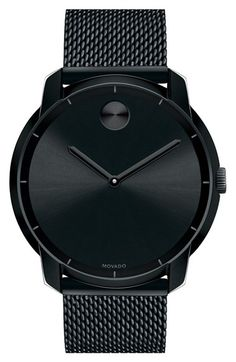 Movado+'Bold'+Mesh+Strap+Watch,+44mm+(Regular+Retail+Price:+$595.00)+available+at+#Nordstrom