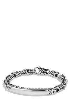 David Yurman 'Chevron' ID Bracelet | Nordstrom