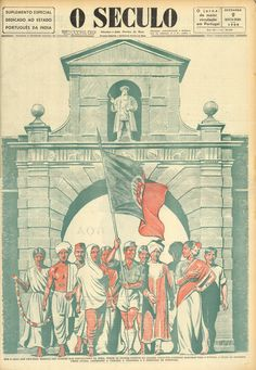 Portuguese territory of Goa in India 1960 newspaper Portuguese Empire, Portuguese Language, Learn Portuguese, Colonial, History Of India, World History, Goa, Victorian Era, Travel Posters