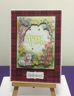 Happy Easter, Papermania/Docrafts, Anita's decoupage
