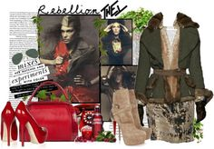"""""""REBELLION"""" by fran-guess ❤ liked on Polyvore"""