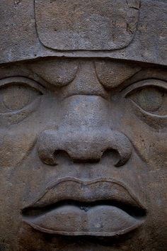 olmec heads | San Lorenzo Olmec head | Flickr - Photo Sharing!