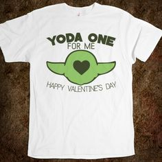 Yoda One for Me | Star Wars Valentine's Shirt