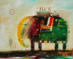 Арсений Лапин. Elephant travel.