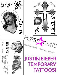 Justin Bieber Tattoos Meanings A Complete Tat Guide