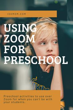Using Zoom with your preschoolers is totally doable! I talked to teachers who are using Zoom in their preschool and classes and came up with this guide. Preschool Lessons, Preschool Classroom, Preschool Learning, In Kindergarten, Learning Activities, Preschool Activities, Preschool Schedule, Classroom Resources, Educational Activities