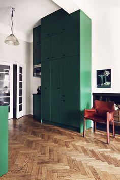 Green: our favorite underused interior color! Photo: J. Ingerstedt