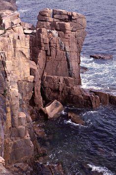 Acadia National Park Rocky Shoreline - http://society6.com/MichaelKirsh/Acadia-National-Park-Rocky-Shoreline_Print
