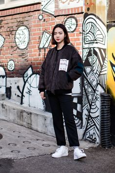 Jacket | Aland - I AM P.S Shoes | Nike On the street… Lee Gayoung Seoul