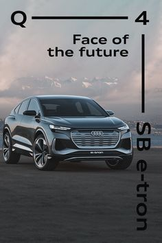 Meet the latest Audi concept car. The sporty stylish sibling - the Audi Q4 Sportback e-tron concept is the next generation in a family of legends. #AudiQ4 #Sportback #etron #concept Audi Q4, Electric Cars, Sibling, Concept Cars, Automobile, Legends, Sporty, Meet, Technology