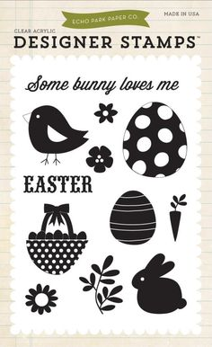 Beautiful Easter stamps from Echo Park available at Crafts U Love http://www.craftsulove.co.uk/papers.htm