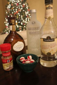 Christmas cookie martini.