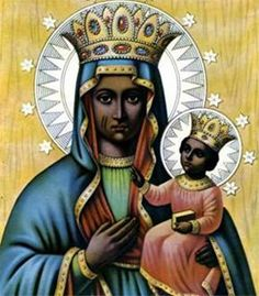 The Black Madonna of Haiti is Erzulie Dantor, a lady of African origin