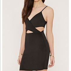 Make An Offerforever21 Cut Out Mini Dress