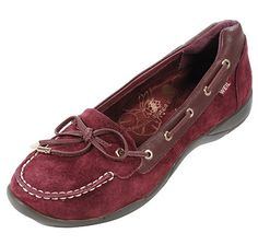 Orthoheel Dr. Weil Orthotic Discovery II Slip-On Moccasin - WINE