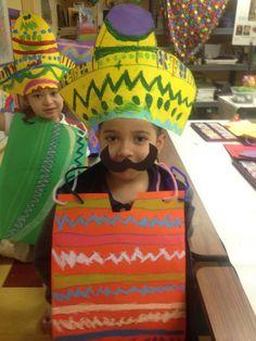 poncho and sombreros ...1st grade