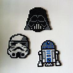 Star Wars hama beads by idareu
