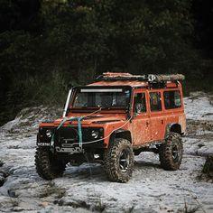"bexargoods: ""Inspiration for us adventure seeking weekend warriors. Another great capture by @shaunwhee #landrover #defender110 #adventuremobile """