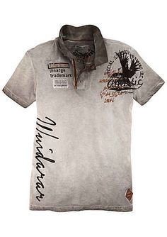 Ideas for sport homme programme Mens Polo T Shirts, Summer Shirts, My T Shirt, Sport Outfits, Printed Shirts, Shirt Designs, Menswear, Fashion Outfits, Fashion Wear