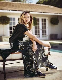 Elizabeth Olsen for Vanity Fair Italy April 2016 - Miu Miu Pre-Fall 2016 dress