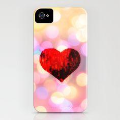HEART iPhone Case by M✿nika  Strigel - $35.00