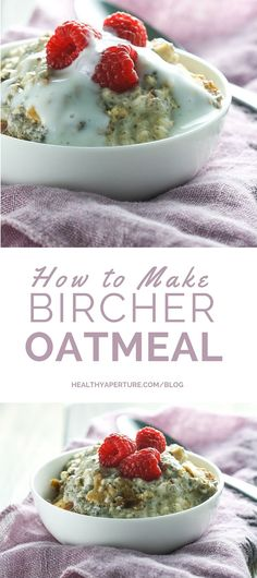 Call them Overnight Oats or Bircher Muesli this recipe for oats with yogurt, apple and chia is a deliciously filling breakfast