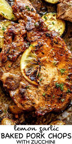 Marinated Pork Chops, Marinade For Pork Chops, Meals With Pork Chops, Pork Chop Meals, Pork Chops And Potatoes, Pork Roast, Lemon Pepper Pork Chops, Best Baked Pork Chops, Tender Pork Chops