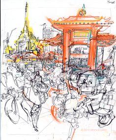Veronica Lawlor chinatown_gate_bangkok_full