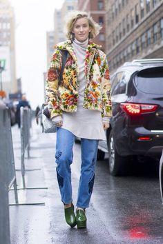 Pin for Later: Genießt das Wochenende mit den besten Street Style Shots der Fashion Week Street Style bei der New York Fashion Week, Februar 2016 Zanita Whittington