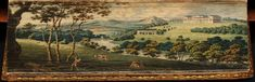 Fore-edge painting: 'Letters of Lady Rachel Russell', 1801, by J. Mawman