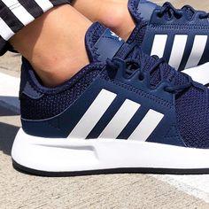 adidas Originals X_PLR Shoes - Navy - adidas Shoes - SportStylist Sneakers Fashion, Fashion Shoes, Shoes Sneakers, Adidas Sneakers, Shoes Heels, Mens Fashion, Cute Shoes, Me Too Shoes, Adidas Shoes Women
