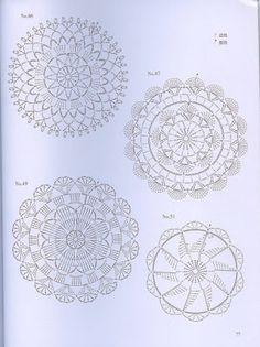 Crochet Knitting Handicraft: crochet lace 60 2. Doily