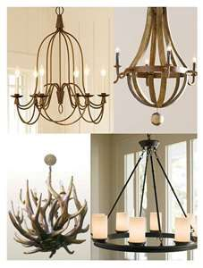 Rustic Chandeliers for Master Bedroom (minus the antler one)