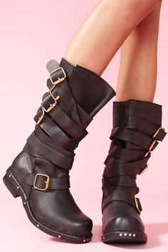 Rogue Strapped Boot | Shop Shoes at Nasty Gal