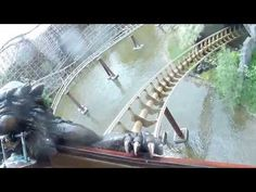 De Vliegende Hollander in de Efteling [On-ride] - Achtbaantester Stephen [1080p HD!]