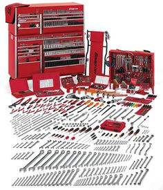 I love Snap-On tools, but pretty much any good brand is OK. - Garage and Tools - Garage Tools, Garage Shop, Garage Workshop, Kids Workshop, Garage Ideas, Tool Organization, Tool Storage, Garage Storage, Camping Organization