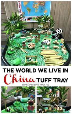 British Values - China Tuff Tray - The World we Live in Early Years Chinese New Year Crafts For Kids, Chinese New Year Activities, New Years Activities, Eyfs Activities, Nursery Activities, Preschool Activities, China Crafts, New Year's Crafts, British Values Display