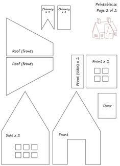 gingerbread house template Template for gingerbread house 7 (free printable) Template for gingerbread house 7 (free printable) Gingerbread House Icing, Homemade Gingerbread House, Cardboard Gingerbread House, Halloween Gingerbread House, Gingerbread House Patterns, Gingerbread Christmas Decor, Cool Gingerbread Houses, Gingerbread House Parties, Christmas Houses