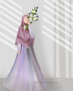 Muslim Girls, Muslim Couples, Muslim Women, Islamic Cartoon, Hijab Cartoon, Cartoon Wallpaper, Drawing For Kids, Girly Girl, Anime Art