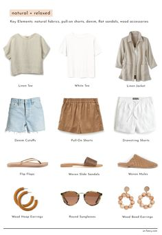 I've always felt drawn to several different styles at the same time — in interior design, in music, and especially in fashion. Yet over the years, as I've honed my personal style,… Capsule Wardrobe Essentials, Capsule Outfits, Fashion Capsule, Mode Outfits, Fashion Outfits, Womens Fashion, Fashion Tips, Capsule Wardrobe Summer, Fashion Hacks