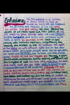 Ephesians in 1 minute! I love Ephesians! Scriptures, Bible Verses, Sunday School Kids, Bible News, Personal Progress, Study Ideas, Life Words, Scripture Study, Youth Ministry