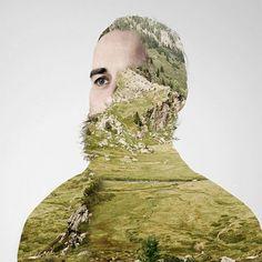 portrait collages, Matt Wisniewski