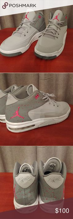 the best attitude cb6c5 85ecb Nike Jordan flight Origin 3 wolf grey vivid pink These are brand new  without the box. Never worn size which in nike sizing is 10 in womens  Jordan Shoes ...