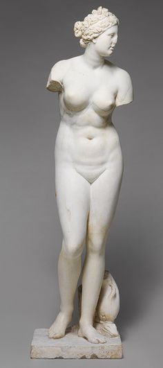 Statue of Aphrodite [Roman copy of a Greek statue] (52.11.5) | Heilbrunn Timeline of Art History | The Metropolitan Museum of Art