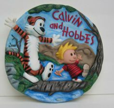 calvin and hobbes cake - Google Search