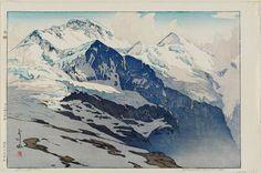 Jungfrau - by Yoshida Hiroshi